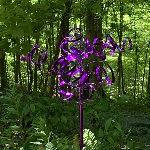 metal art, garden